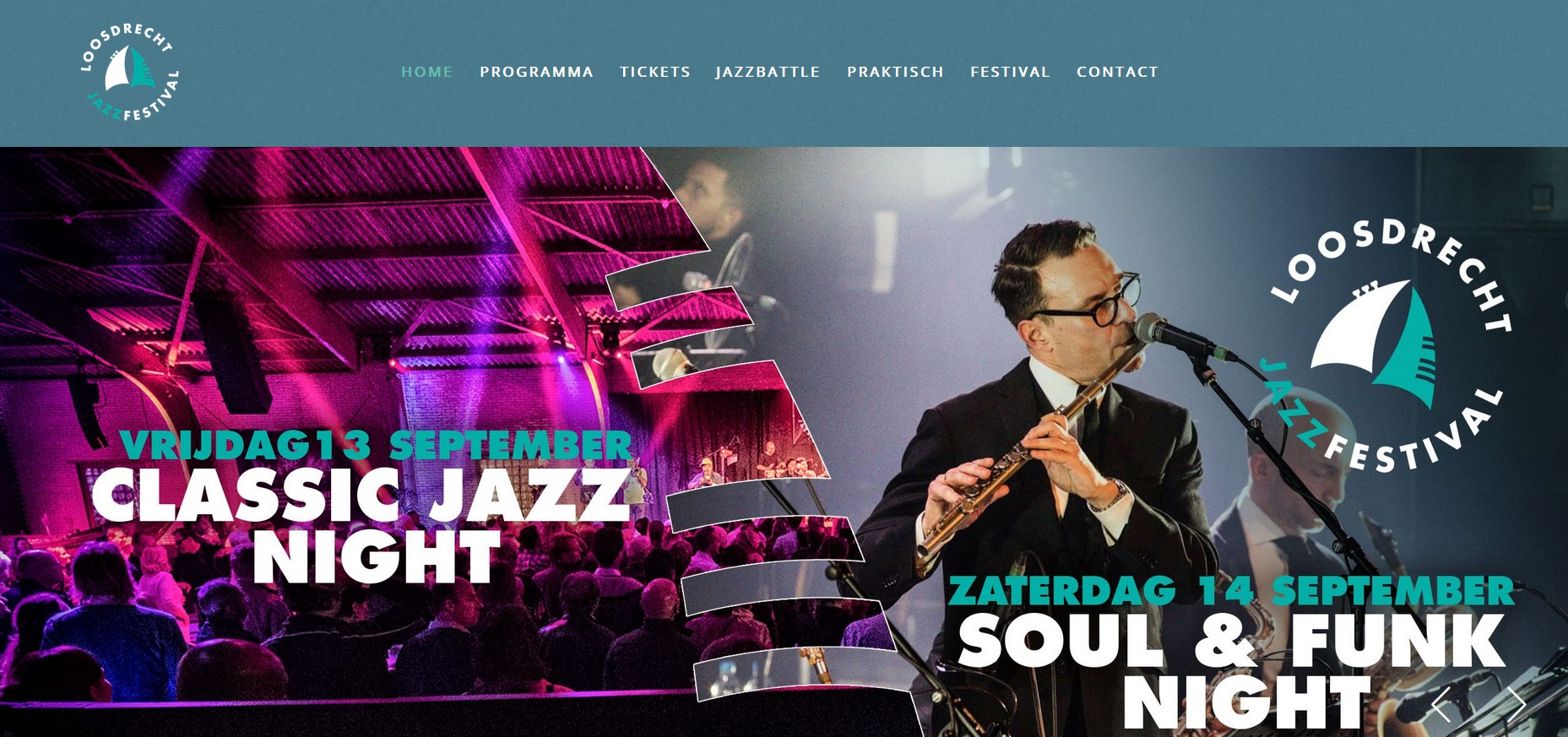 13-14 september 2019 Loosdrecht Jazz Festival