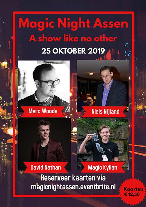 25 oktober 2019 Magic Night Assen