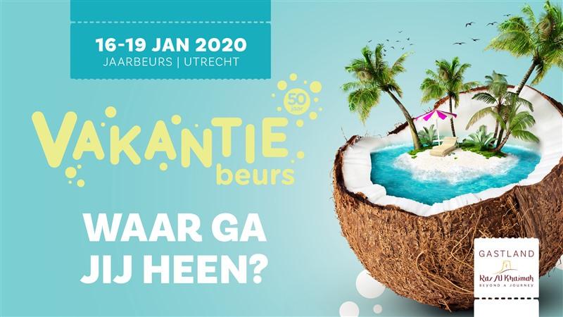 16 t/m 19 januari 2020 Vakantiebeurs - Utrecht