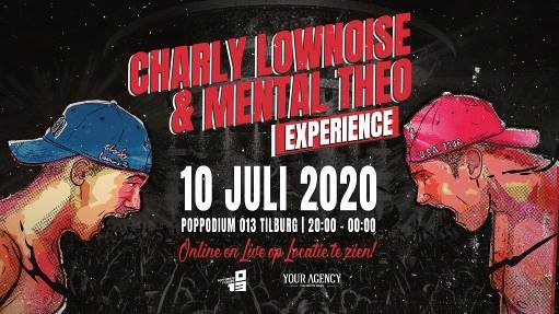 10 juli 2020 Charly Lownoise &  Mental Theo Experience - Tilburg