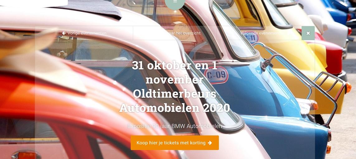 31 oktober 2020 Oldtimerbeurs Automobielen 2020